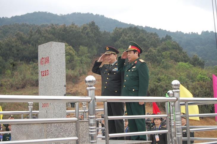 Melanjutkan aktivitas-aktivitas temu pergaulan persahabatan ke-3 pertahanan  perbatasan Vietnam-Tiongkok - ảnh 1