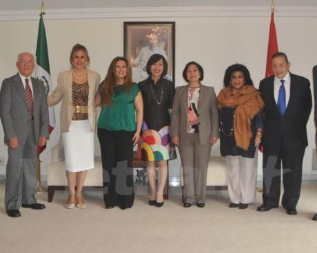 Vietnam dan Meksiko  memperkuat hubungan kerjasama persahabatan - ảnh 1
