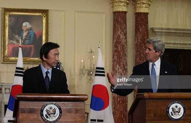 Republik Korea dan AS setuju terus menimbulkan tekanan terhadap RDRK - ảnh 1