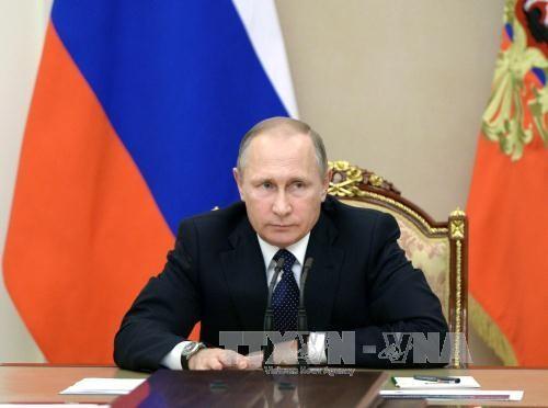 Rusia menghentikan kerjasama dengan AS tentang penggunaan  plutonium - ảnh 1