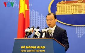 Reaksi Vietnam  tentang aktivitas kapal  militer AS di kawasan sekitar kepulauan Hoang Sa - ảnh 1