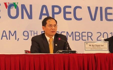 APEC-2017 terus menciptakan selar sumbangan positif Vietnam pada forum multilateral - ảnh 1
