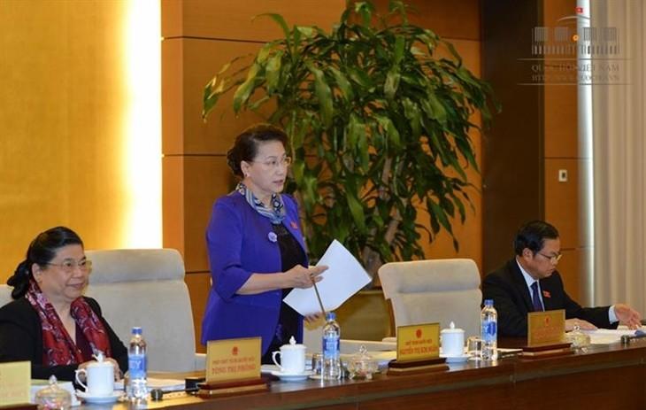 Komite Tetap MN Vietnam mengadakan persidangan ke-9 - ảnh 1