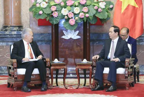 Berupaya  mencapai  nilai perdagangan bilateral Vietnam-Indonesia sebesar 10 miliar dolar AS - 2018 - ảnh 1