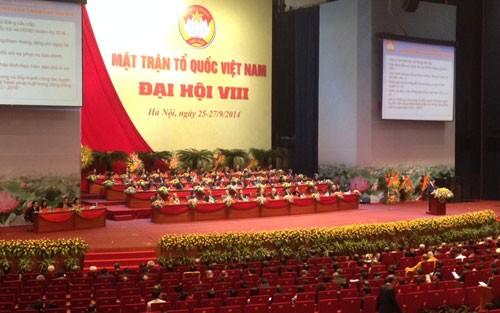 Kongres Nasional ke-9 Front Tanah Air Viet Nam masa bakti 2019-2024 akan dibuka di Kota Ha Noi - ảnh 1