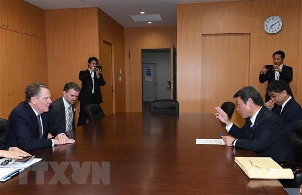 Permufakatan perdagangan AS-Jepang  menjumpai rintangan pada saat-saat terakhir - ảnh 1