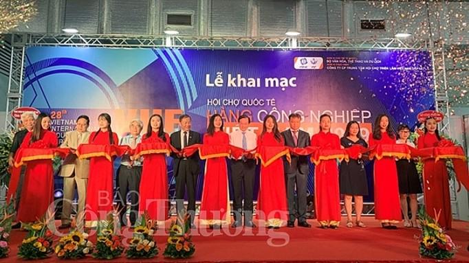 Pembukaan  Pekan Raya Internasional Barang Industri Vietnam-tahun 2019 - ảnh 1