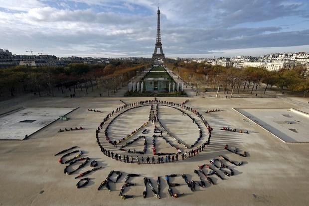 """Perancis menegaskan Perjanjian Paris tentang Perubahan Iklim  adalah """"tidak bisa dibalikkan"""" - ảnh 1"""