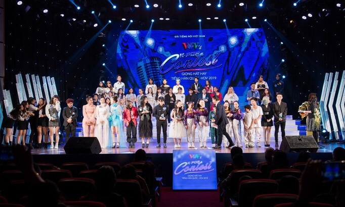"""Kontes semi final: """"Nanyian  baik bahasa Korea-VOV 2019"""" - ảnh 1"""