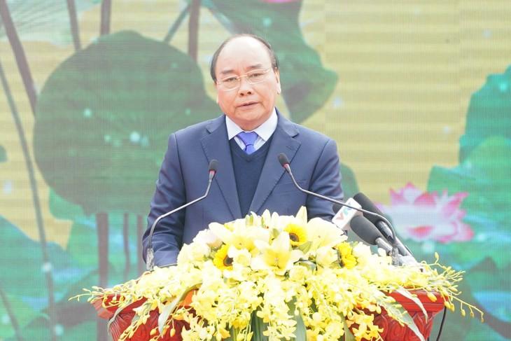 "PM Nguyen Xuan Phuc: Membangun pedesaan baru merupakan tugas yang ""tak pernah berakhir"" - ảnh 1"