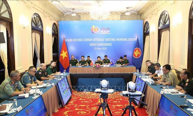 ASEAN  2020:  Konferensi online  Kelompok Kerja Pejabat  Pertahanan Senior ASEAN - ảnh 1