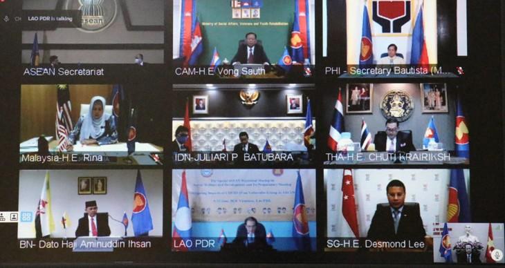 Memitigasi dampak dari wabah Covid-19  terhadap  kelompok-kelompok yang rentan dalam ASEAN - ảnh 1