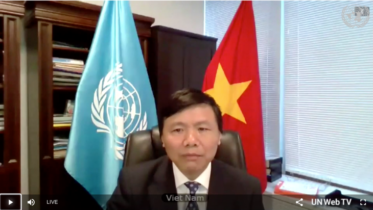 Vietnam dan Indonesia  berbicara bersama di depan DK PBB mengenai situasi Afrika Tengah - ảnh 1