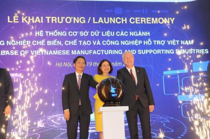 Meresmikan Sistem  Basis  data cabang-cabang industri pengolahan, manufaktur dan industri penunjang Vietnam - ảnh 1