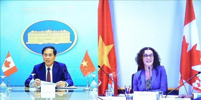 Vietnam dan Kanada meningkatkan lebih lanjut lagi kerja sama ekonomi, perdagangan dan investasi - ảnh 1