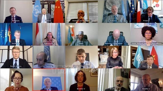 DK PBB masih mengalami perpecahan yang mendalam  tentang masalah Suriah - ảnh 1