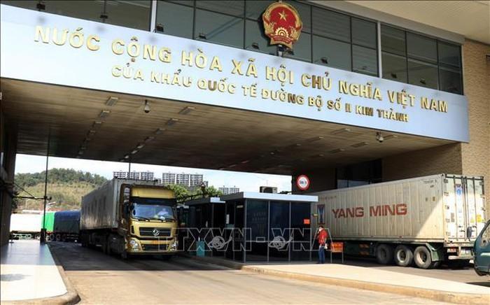 Membahas solusi mendorong  perkembangan perdagangan  Vietnam-Tiongkok - ảnh 1