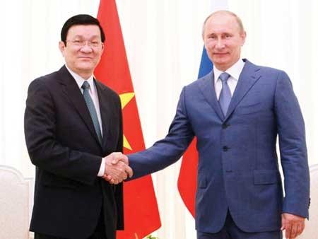 Suite de la visite du Président Truong Tan Sang en Russie - ảnh 1