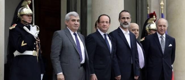 La France a établi des relations avec l'opposition syrienne - ảnh 1