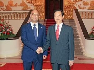 Entretiens entre les dirigeants vietnamiens et le Premier Ministre haïtien - ảnh 1