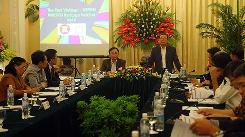Festival des patrimoines de l'UNESCO Vietnam-ASEAN, 1ère édition - ảnh 1
