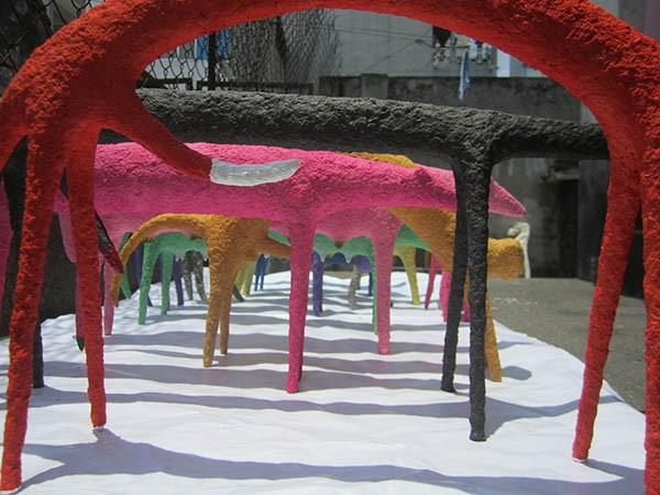 Young artists' hallmark at the Vietnam Fine Arts Association 2014 Award - ảnh 4