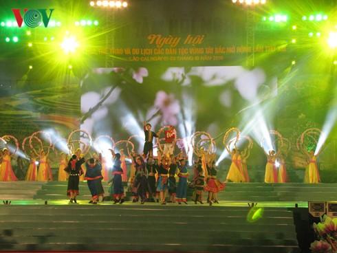 西北地区各民族文化体育和旅游节开幕 - ảnh 1