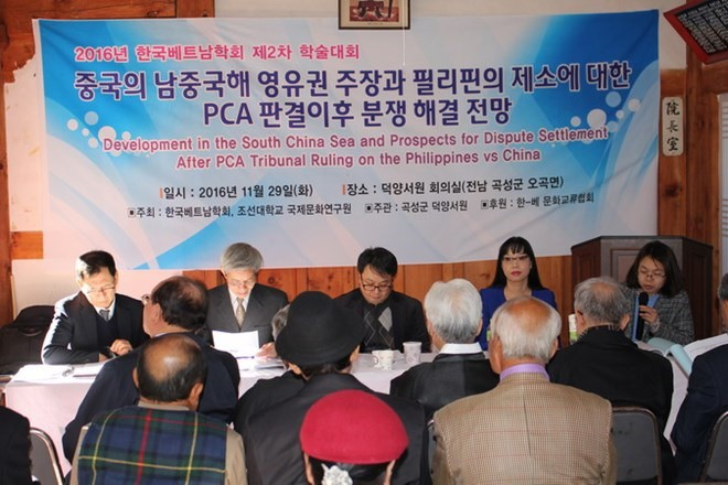 Conference on the East Sea after PCA's ruling in South Korea - ảnh 1