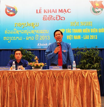 Vietnam, Lao youths boost cooperation - ảnh 1