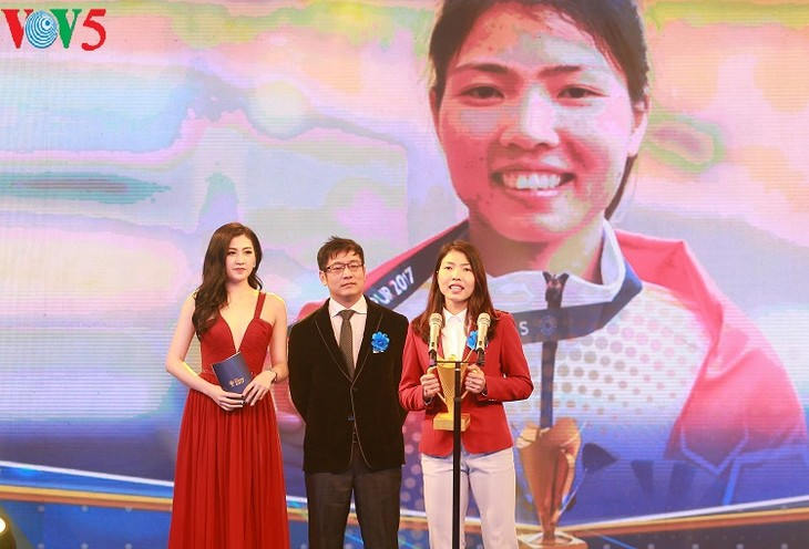 Top Vietnamese athletes, teams of 2017 honored - ảnh 3