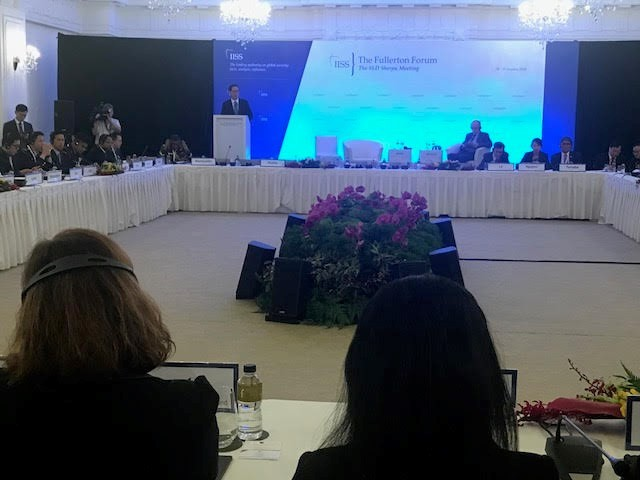 Vietnam attends 6th Fullerton Forum in Singapore - ảnh 1