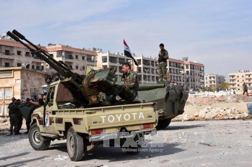 叙利亚军队限令盘踞阿勒颇的恐怖分子24小时内投降 - ảnh 1