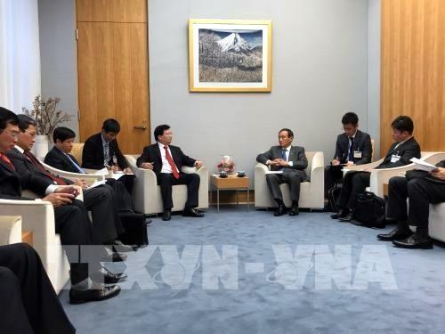日本合作并协助越南发展大型基建工程 - ảnh 1
