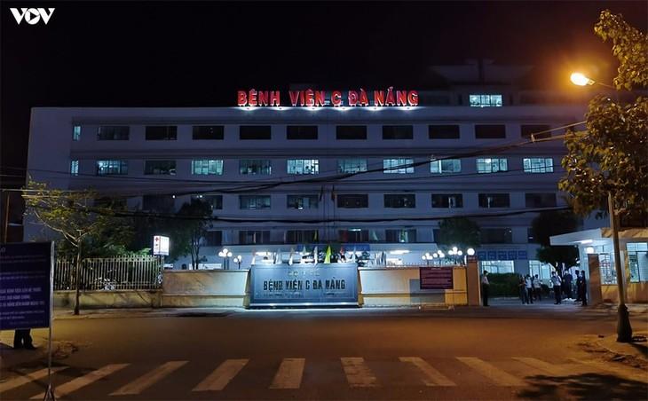 Chùm ảnh: Dỡ bỏ phong tỏa, Bệnh viện C Đà Nẵng mở cửa đón bệnh nhân trở lại - ảnh 1