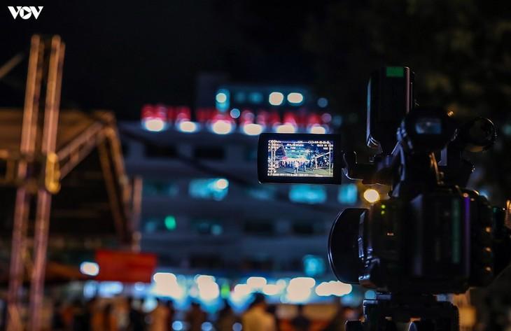 Chùm ảnh: Dỡ bỏ phong tỏa, Bệnh viện C Đà Nẵng mở cửa đón bệnh nhân trở lại - ảnh 3