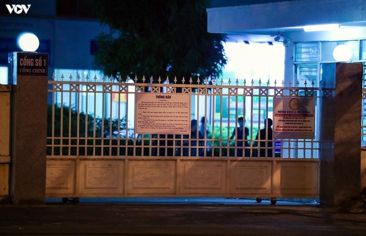 Chùm ảnh: Dỡ bỏ phong tỏa, Bệnh viện C Đà Nẵng mở cửa đón bệnh nhân trở lại - ảnh 7