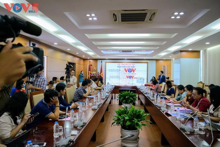 Đài Tiếng nói Việt Nam ra mắt logo mới và nền tảng nội dung số VOVlive - ảnh 1