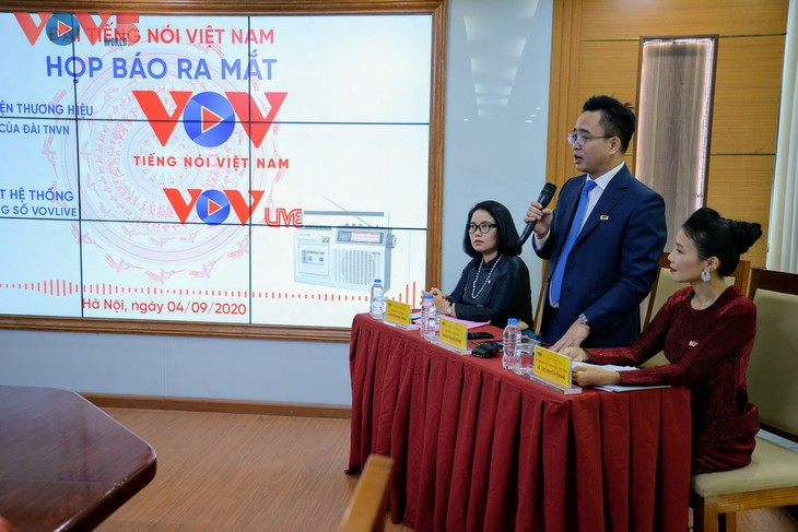 Đài Tiếng nói Việt Nam ra mắt logo mới và nền tảng nội dung số VOVlive - ảnh 3
