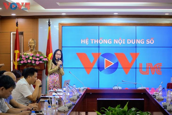 Đài Tiếng nói Việt Nam ra mắt logo mới và nền tảng nội dung số VOVlive - ảnh 6