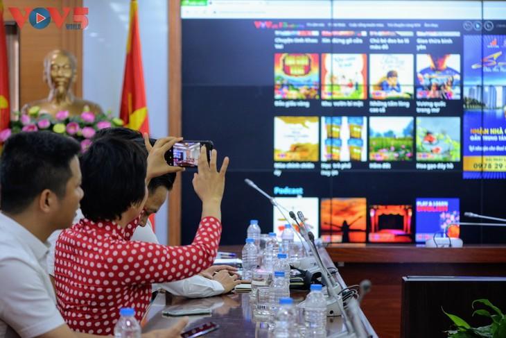 Đài Tiếng nói Việt Nam ra mắt logo mới và nền tảng nội dung số VOVlive - ảnh 10