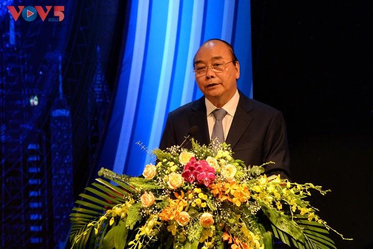 Toàn cảnh lễ kỷ niệm 75 năm ngày thành lập Đài TNVN và đón nhận Huân chương Lao động hạng Nhất - ảnh 4