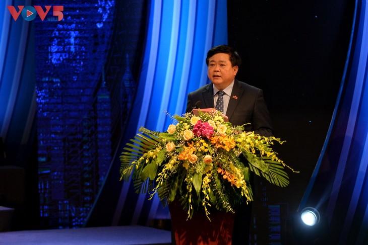 Toàn cảnh lễ kỷ niệm 75 năm ngày thành lập Đài TNVN và đón nhận Huân chương Lao động hạng Nhất - ảnh 5