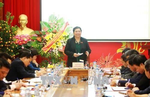 Tong Thi Phong travaille avec la Caisse de sécurité sociale du Vietnam - ảnh 1
