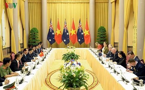 Entretien entre le président vietnamien et le gouverneur général d'Australie  - ảnh 1