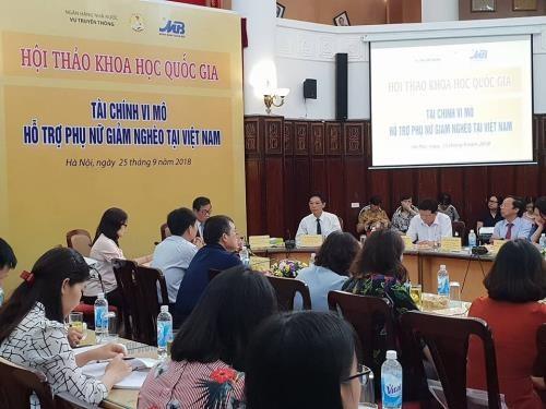 Vietnam: Les micro-financements aident les femmes à lutter contre la pauvreté - ảnh 1