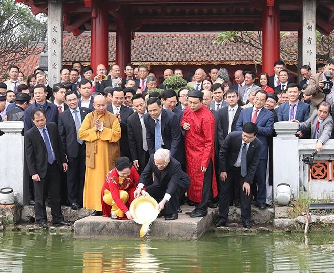 Nguyên Phu Trong au programme « Le printemps dans mon pays natal » - ảnh 1