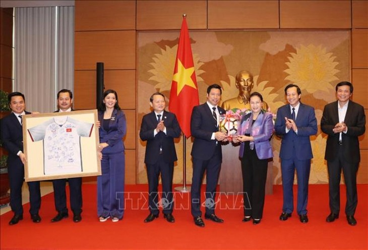 Nguyên Thi Kim Ngân salue les contributions de Van Phu-Invest à la communauté - ảnh 1