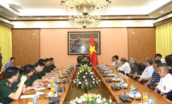 Le général Lê Hiên Vân reçoit une délégation chinoise - ảnh 1
