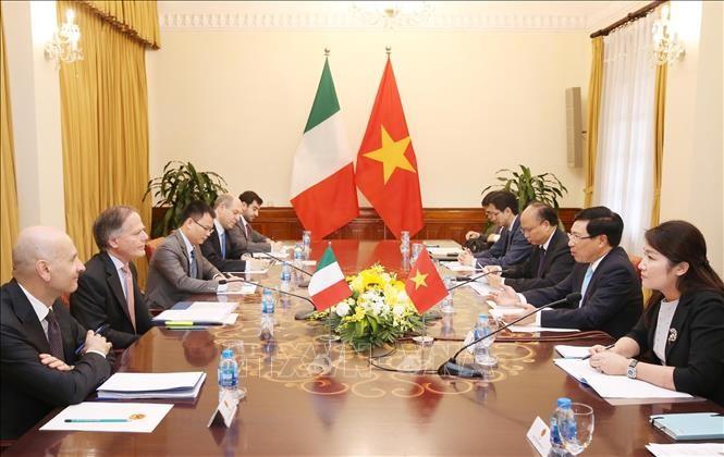 Vietnam-Italie: mise en oeuvre du plan d'action de partenariat stratégique 2019-2020 - ảnh 1