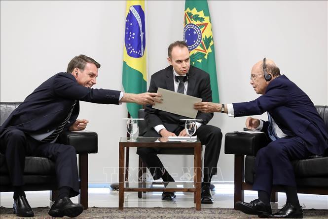 USA-Brésil : démarrage des négociations d'un accord de libre-échange - ảnh 1